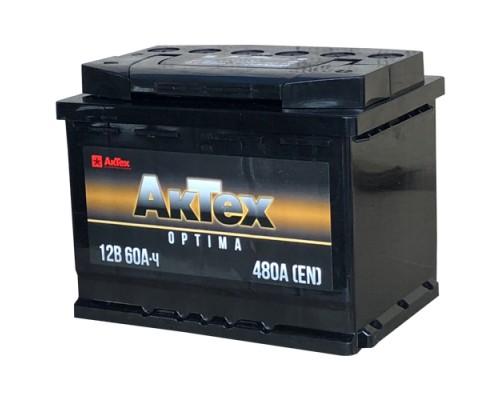 АККУМУЛЯТОР AKTEX OPTIMA 6СТ-60/480А (О/П)