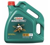 МАСЛО CASTROL MAGNATEC 5W/40 (СИН., 4 Л)
