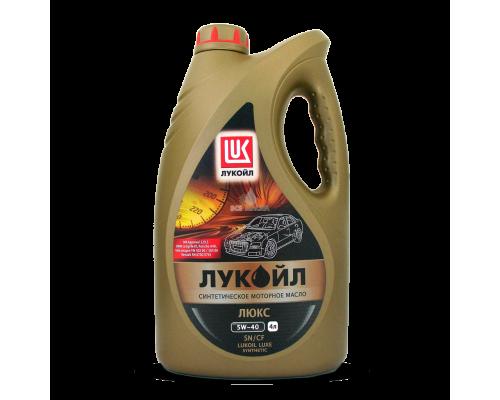 МАСЛО МОТОРНОЕ ЛУКОЙЛ ЛЮКС 5W40 (4 Л) СИНТ.