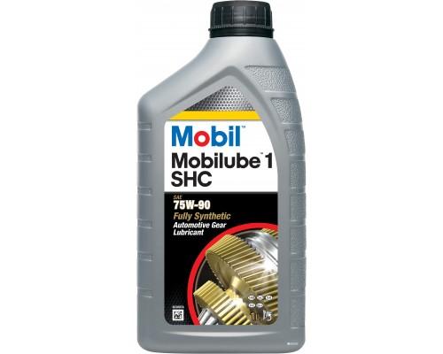 "МАСЛО ТРАНСМИССИОННОЕ ""MOBIL"" MOBILUBE 1 SHC 75W90 (1 Л) СИНТ. (GL-4/GL-5)"
