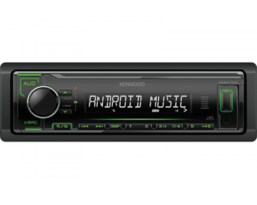 "ТЮНЕР CD+MP3 ""KENWOOD KMM-104GY"""