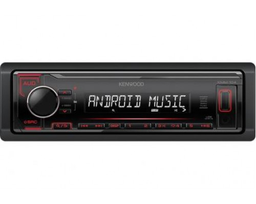 "ТЮНЕР CD+MP3 ""KENWOOD KMM-104RY"""