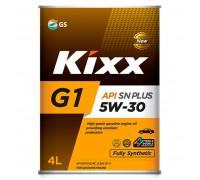 МАСЛО МОТОРНОЕ KIXX G1 PLUS 5W30 SN/CF (4 Л) СИНТ.