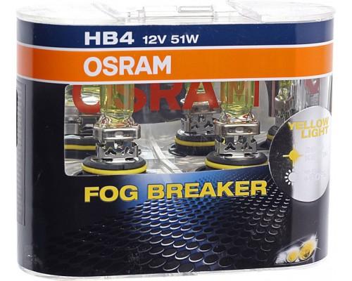 ЛАМПА 12B 51W  HB4 FOG BREAKER (2ШТ)