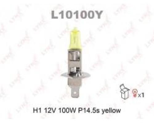 ЛАМПА 12B H1 L10100Y YELLOW