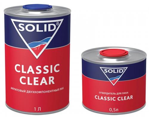 ЛАК CLASSIC CLEAR ДВУХКОМП. 1000 МЛ С ОТВЕРДИТЕЛЕМ 500 МЛ